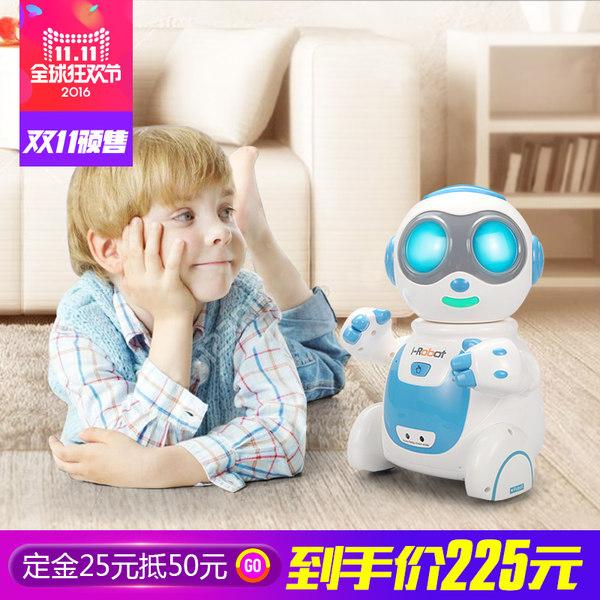 盈佳智能遥控机器人互联网搜索wifi蓝牙网络对话早教电动儿童玩具