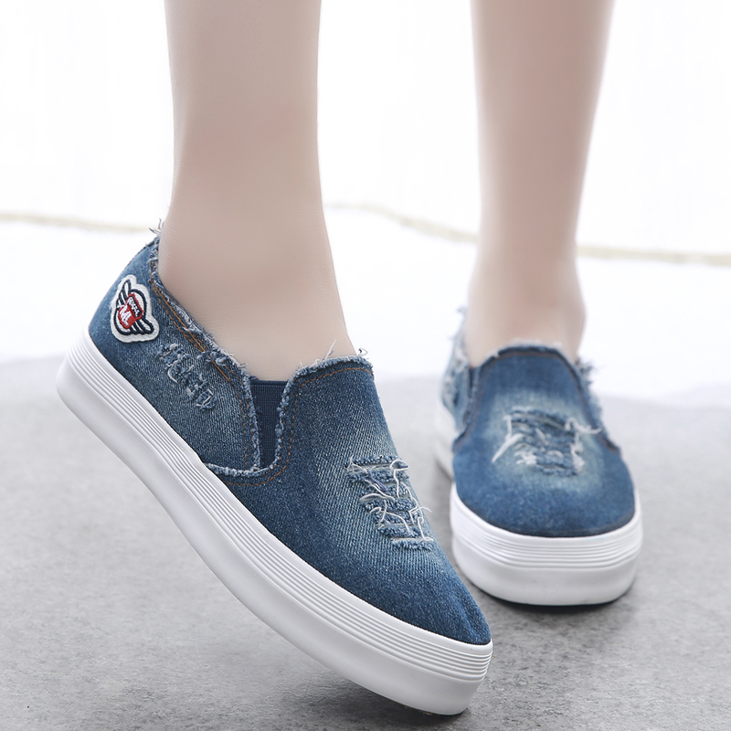 Canvas shoes for women in summer and autumn of 2017