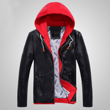 The new spring 2015 men's jacket, han edition cultivate one's morality youth leather jacket in the spring and autumn coat thin spring tide