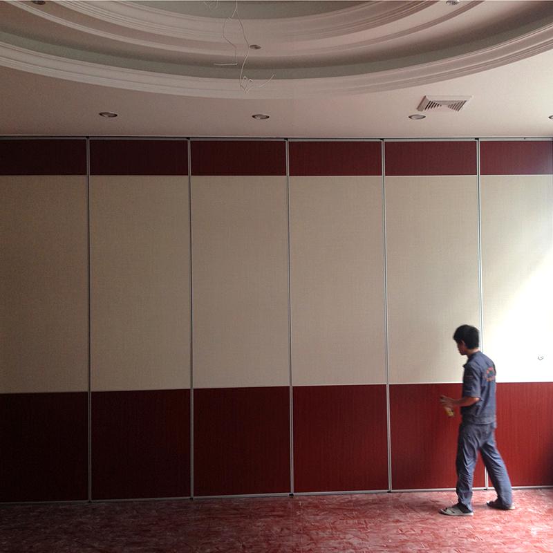 酒店移動屏風活動隔斷隔音牆 宴會廳移動折疊門 畫廊移動隔斷廠家