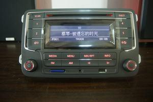 大众原厂新捷达新桑塔纳赛欧朗逸POLO宝来晶锐昕锐车载CD机收音机