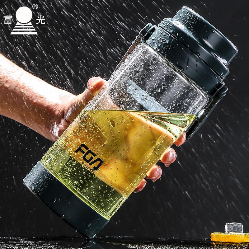 富光超大容量太空杯便攜水杯塑料大號水瓶 水壺戶外杯子1500ML