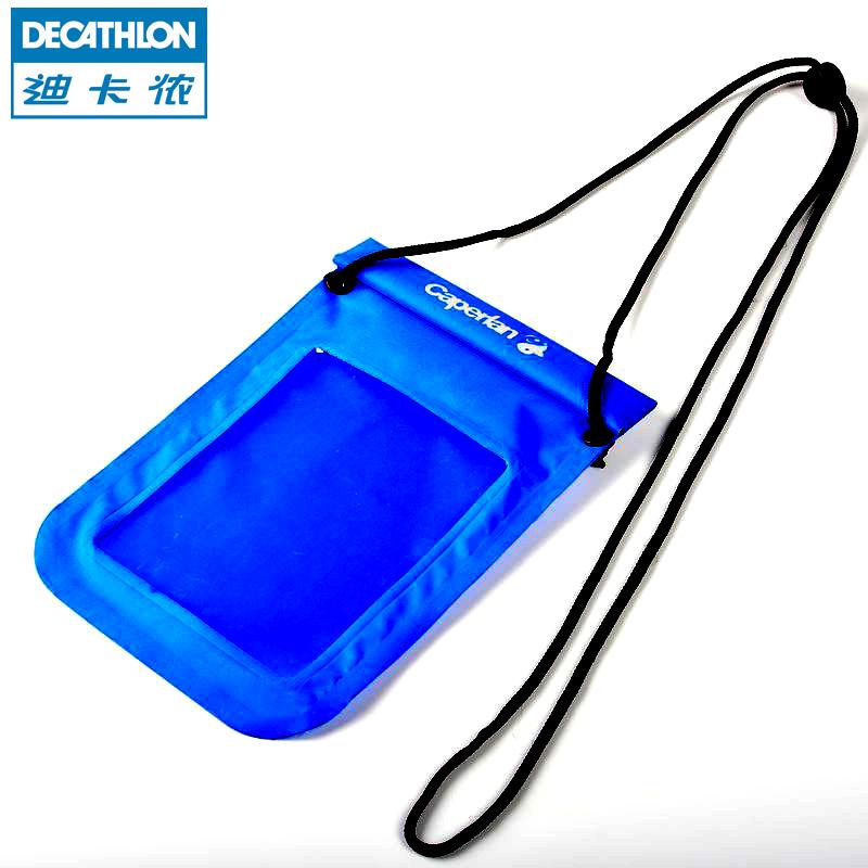 迪卡儂 手機防水袋 防濺水 戶外釣魚漂流手機證件防水包 CAPERLAN