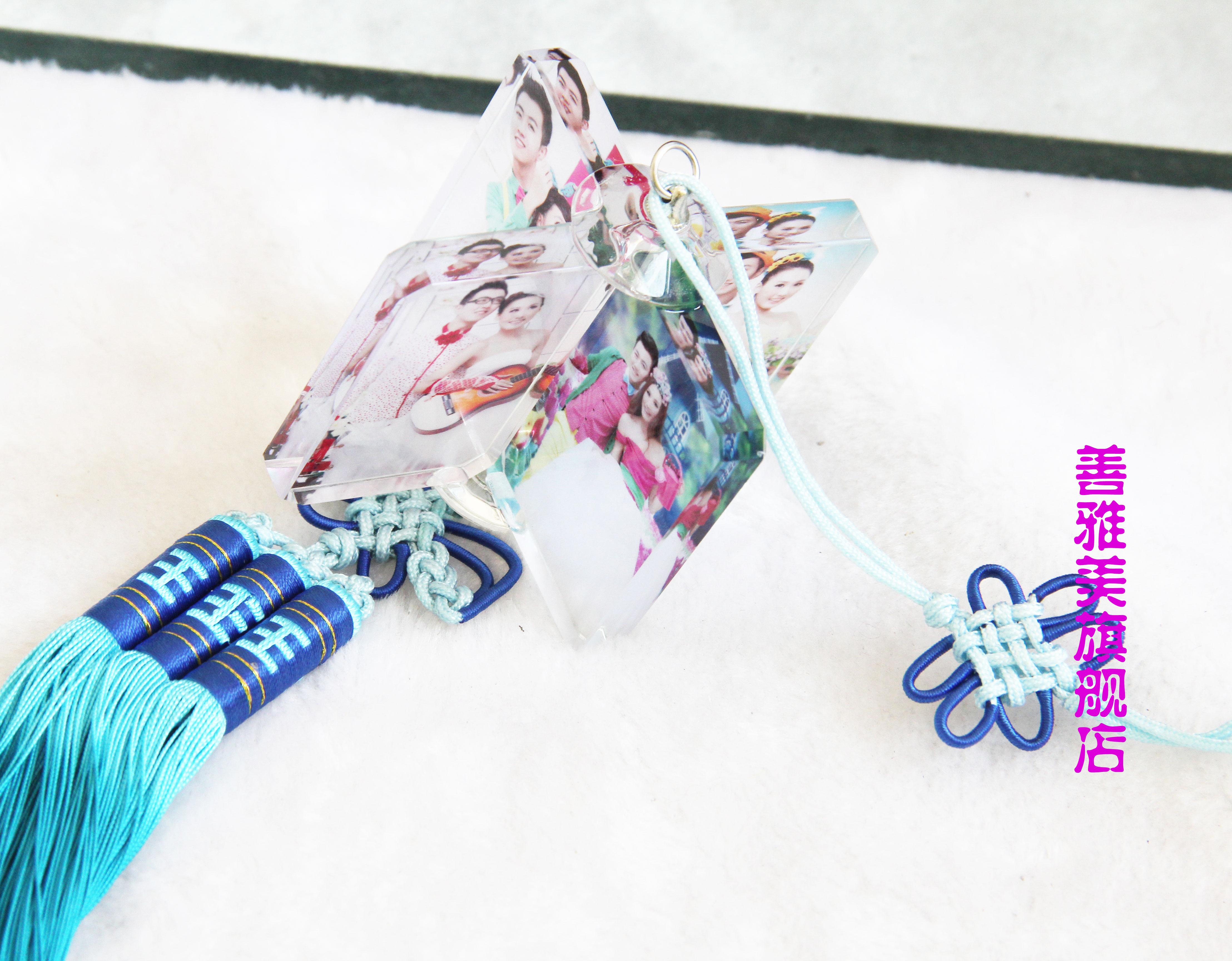 Кристалл ветряная мельница фото автомобиль кулон творческий брелок китайский узел фото стандарт аксессуары день рождения подарочные пакеты почта