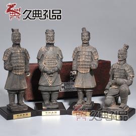 西安兵马俑摆件工艺品摆件会议出国礼品送老外送客户纪念品25cm