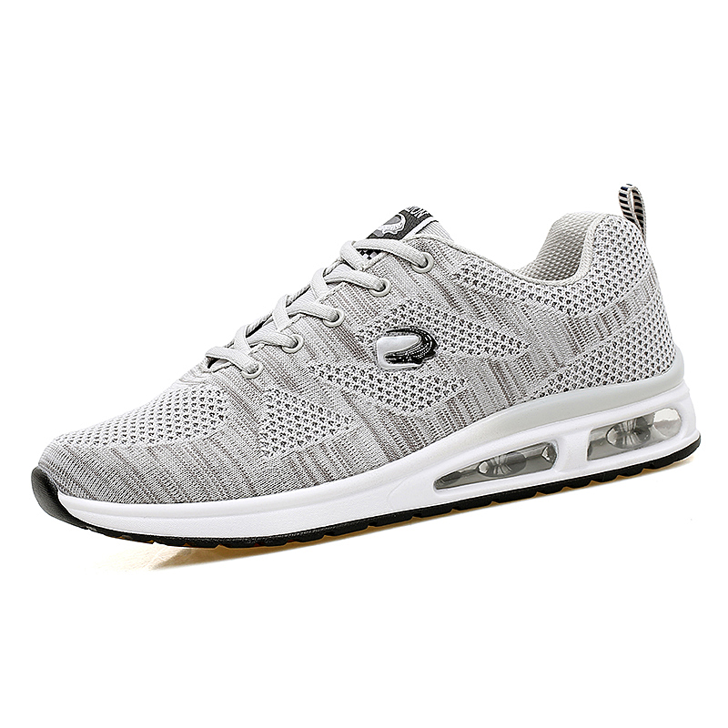 Youth breathable mesh sports casual shoes mens shoes soft soled student running shoes ox tendon bottom anti slip air cushion shoes mens shoes