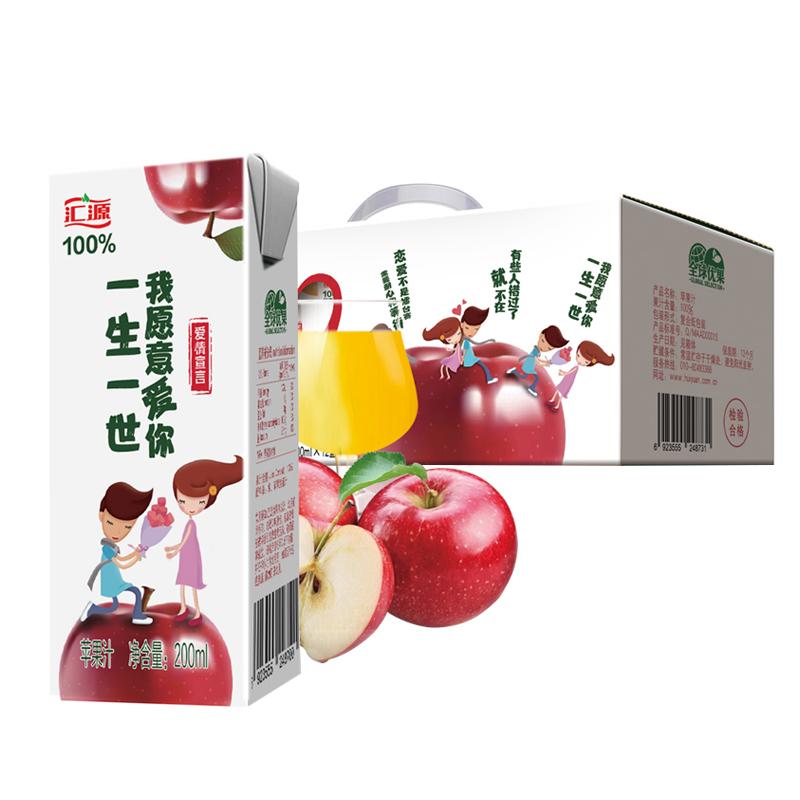 【 рысь супермаркеты 】 обмен источник любовь молодежный вариант яблоко сок 200 миллилитр *12 коробка сконцентрировать фруктовый сок напитки полная загрузка контейнера (fcl)