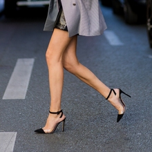 High heeled sandals women's new spring and summer 2020 women's Shoes Sexy temperament all kinds of pointy head with high heels and thin heels