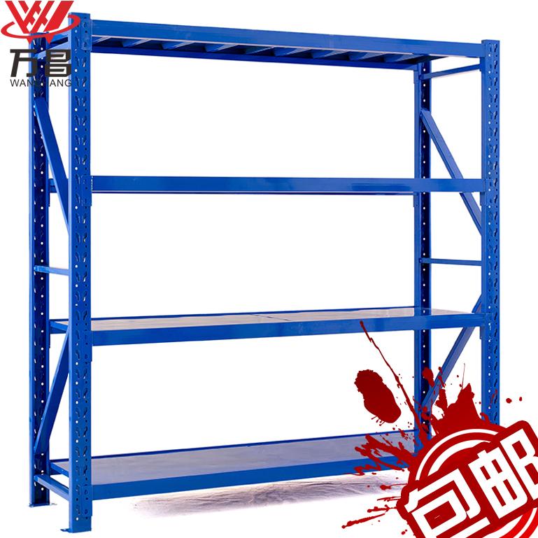 萬昌輕型倉儲貨架倉庫儲物架家用服裝雜物架置物架展示架鐵架子