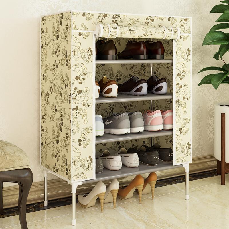 簡易鞋架多層 組裝經濟型簡約 布鞋櫃宿舍家用鞋架子收納櫃