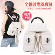 ZYA bamboo vintage ladies bag backpack dual shoulder bag for fall/winter 2015 Su handbags, new trends handbags