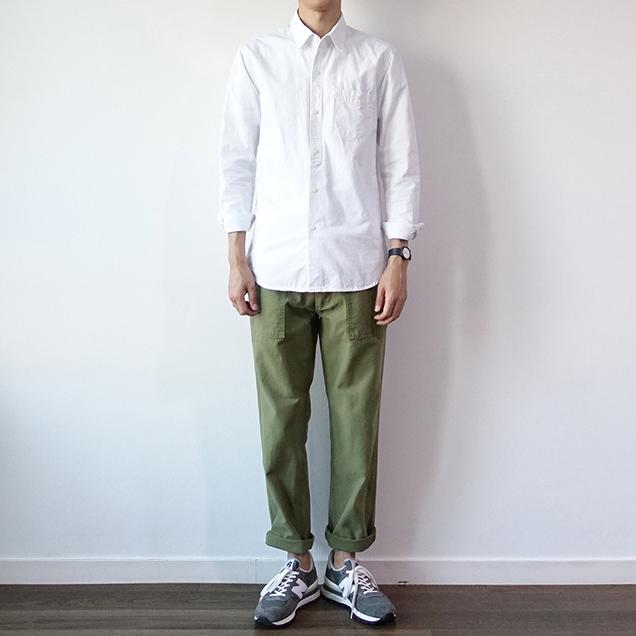 jungle cargo og-107军裤男士军绿色宽松直筒工装裤169.00元包邮