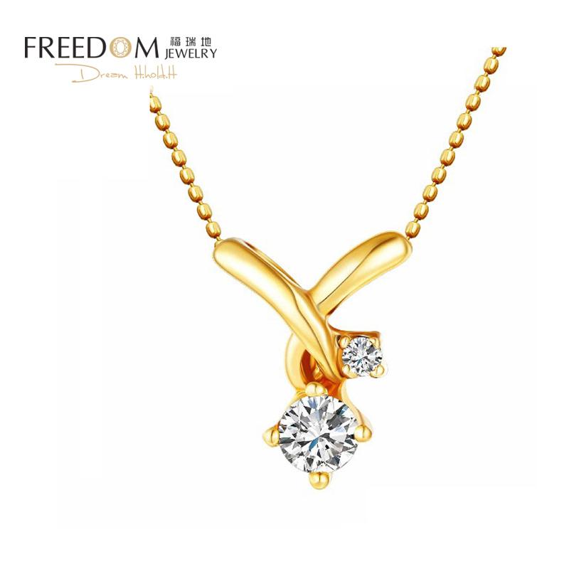 Furuidis famous Italian teacher designed 18k rose gold diamond necklace pendant, unique high-end jewelry