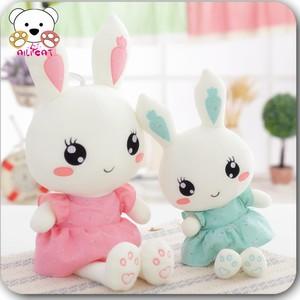 兔子毛绒玩具流氓兔小白兔公仔抱枕大布娃娃玩偶布女孩七夕礼物女