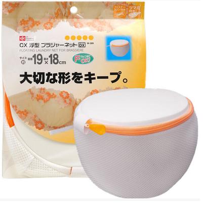 日本LEC文胸洗护袋 优质洗衣袋内衣洗衣网袋保护胸罩清洗网兜细网