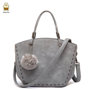 Northern bag nubuck fashion handbag simple casual wool ball bag retro shoulder bags diagonal bag new handbag