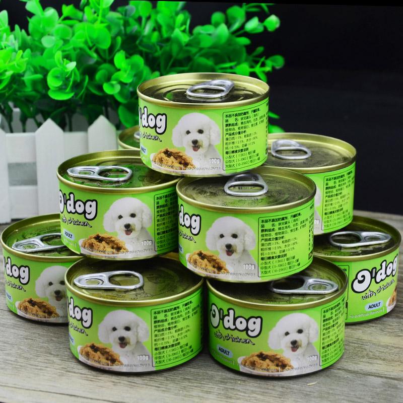 傲寵狗糧伴侶雞肉濕糧罐頭100g 罐 x6狗罐頭整箱狗零食寵物食品