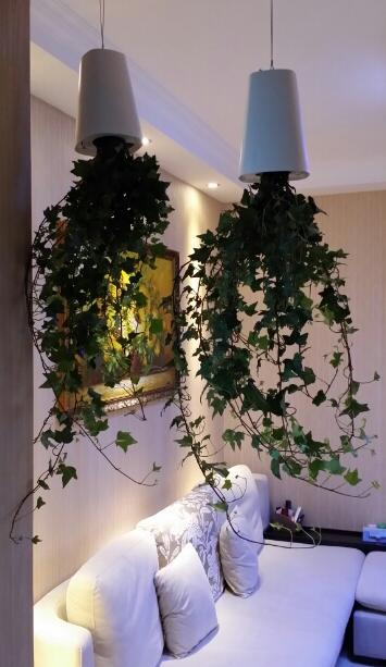 Небо плантатор творческий вниз головой цветочные горшки, Подвесные горшки сад кафе sky горшки для домашнего декора