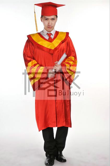 高品质校长服院长服毕业典礼服学位尊贵国际标准礼服帽子披肩套装
