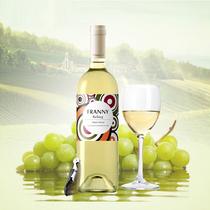 法国进口红酒白葡萄酒干白葡萄酒雷司令单瓶送开海马刃