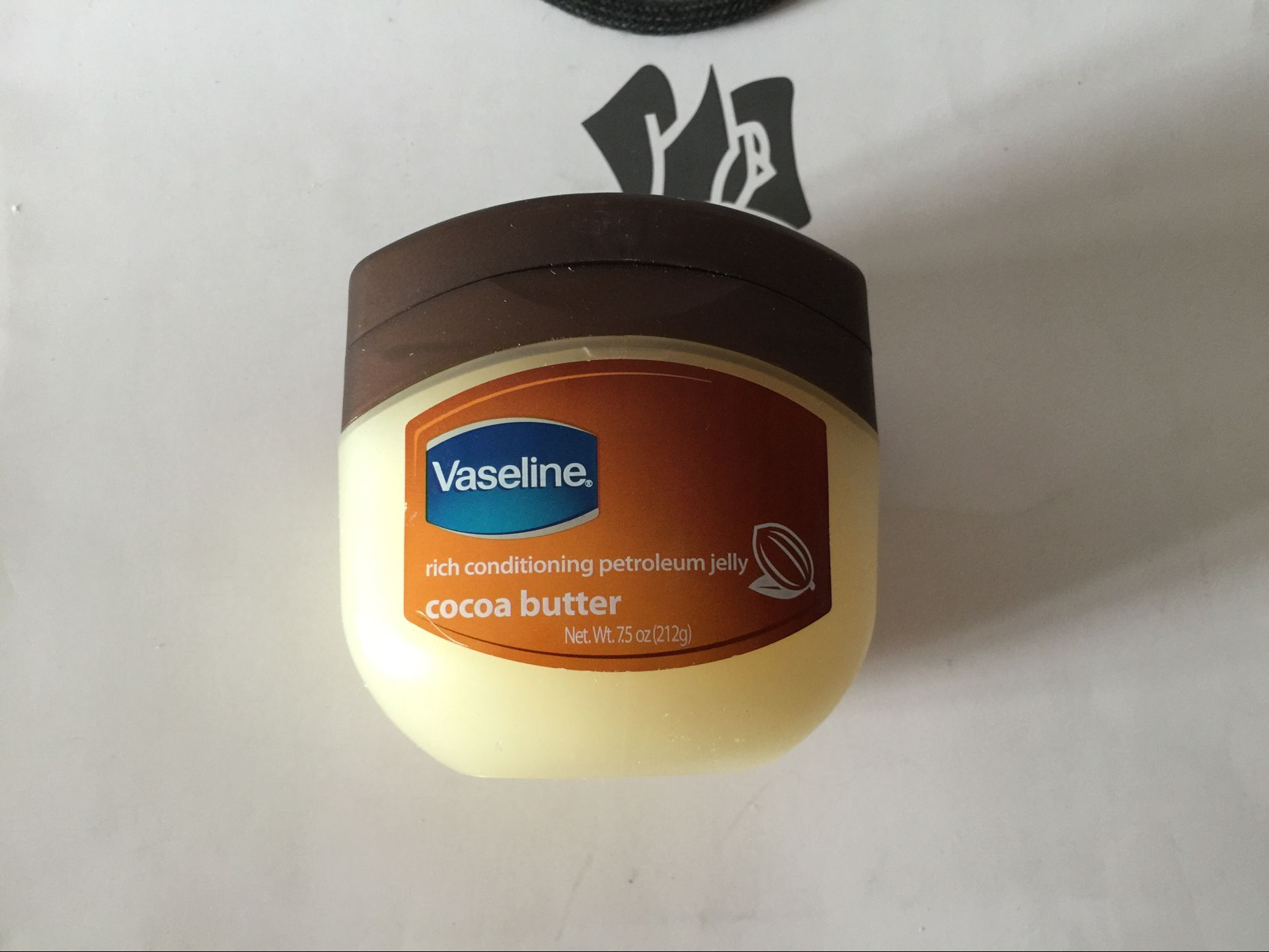 新款可可味 美国医药局推荐!Vaseline凡士林 特润肤膏212g