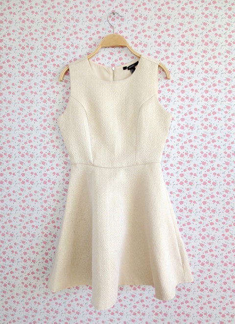 Gold thread cotton slim dress with embossed waist and thin skirt new autumn dress 0519
