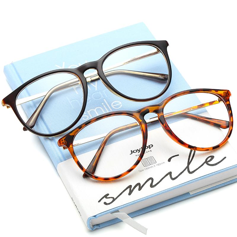 防輻射定製近視眼鏡 超輕眼鏡架光學鏡男女平光鏡 配近視眼鏡成品