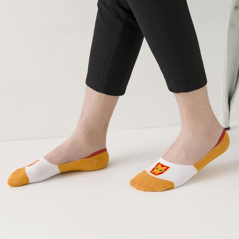 袜子男士船袜潮薄款短袜夏季低帮床袜硅胶防滑袜套浅口袜底隐形袜