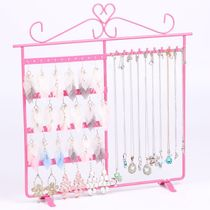 Foot can turn necklace earrings jewelry display frame necklace rack Jewelry display rack shelf stalls