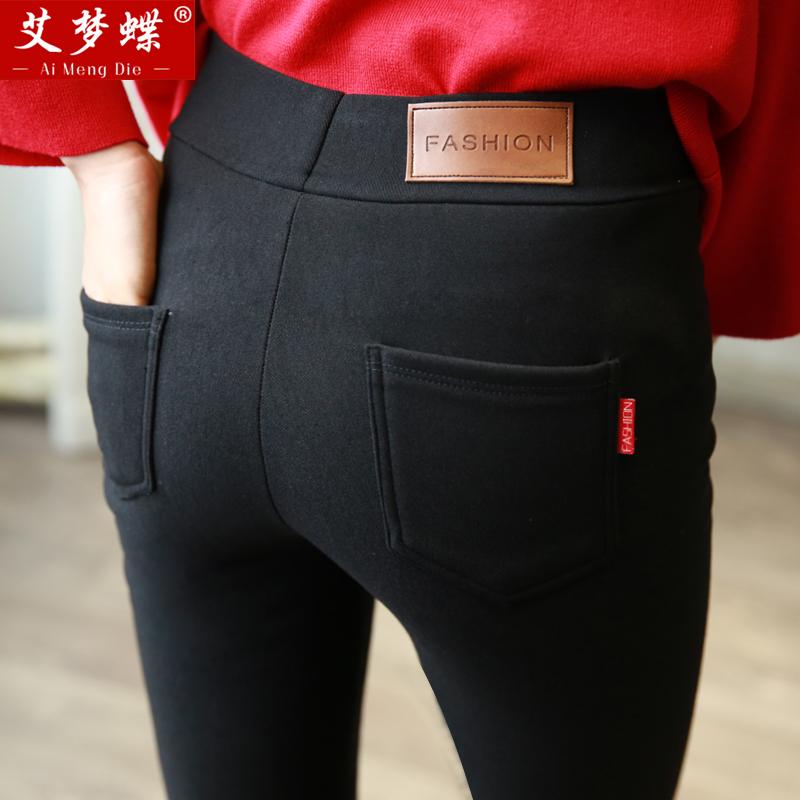 打底裤女薄款外穿高腰夏季显瘦紧身韩版九分裤子黑色2018新款百搭