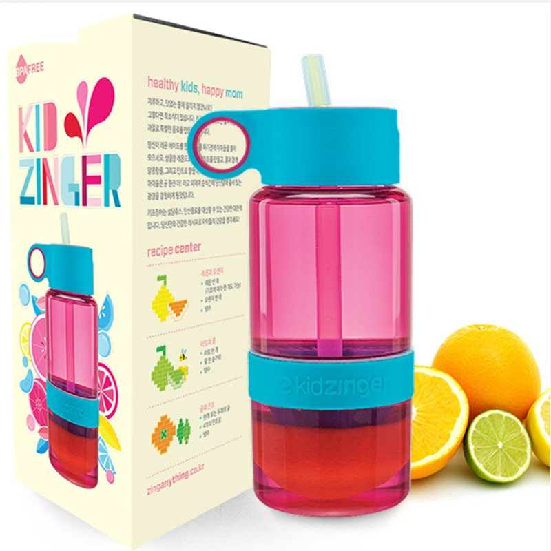 zinganything韩国儿童柠檬杯kidzinger手动榨汁水果杯防漏带吸管券后128.00元
