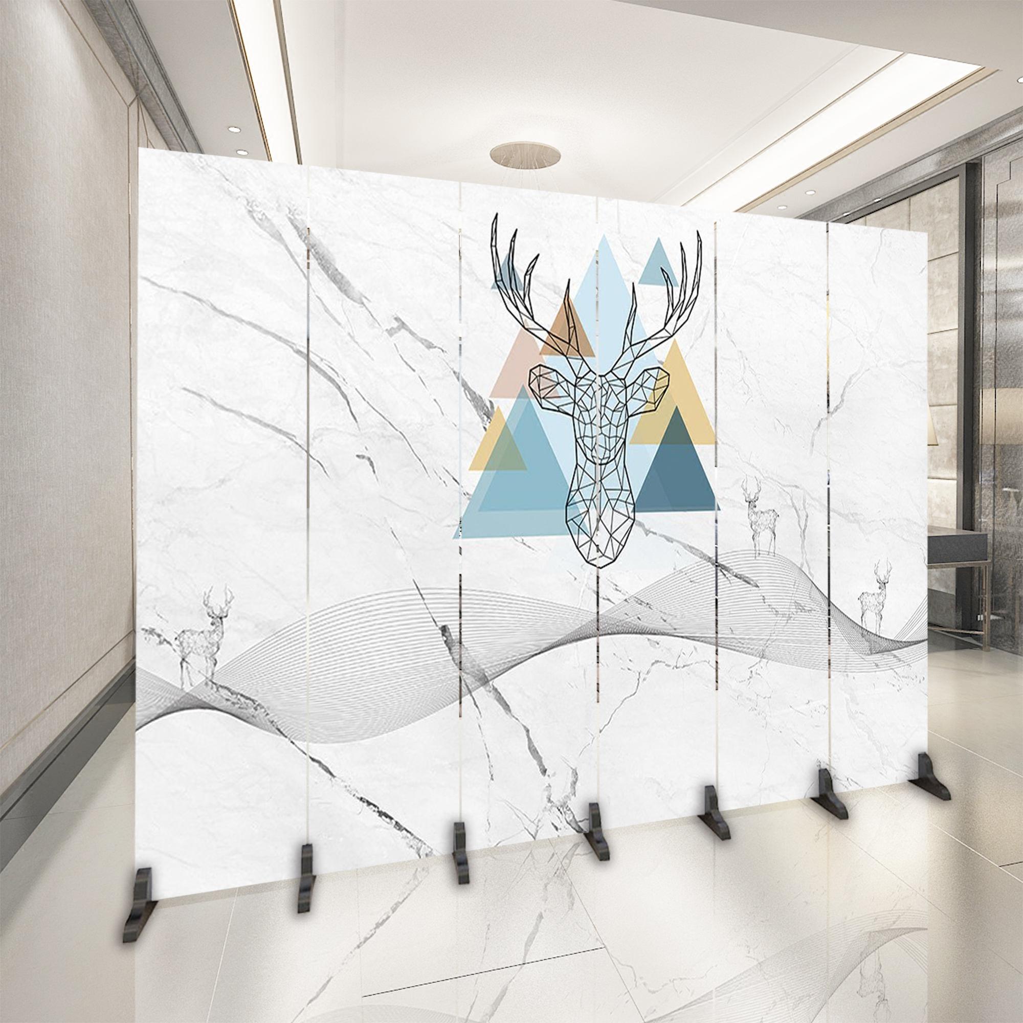 Континентальный сложить экран отрезать простой современный магазин гостиная спальня офис комната косметология больница модель кровать мобильный сложить экран