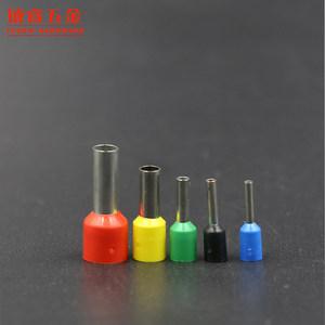 VE0508 欧式冷压接头 插针管型端子接线端子铜鼻子E0508 针型端子