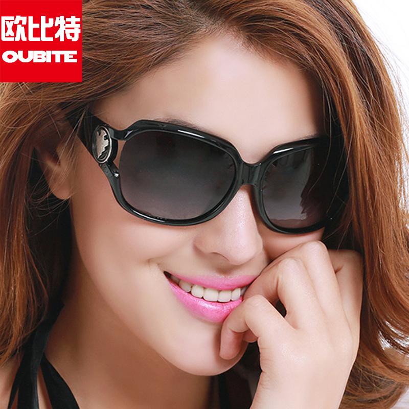 偏光太阳镜女圆脸2018新款潮防紫外线大脸显瘦墨镜女圆脸显瘦个性