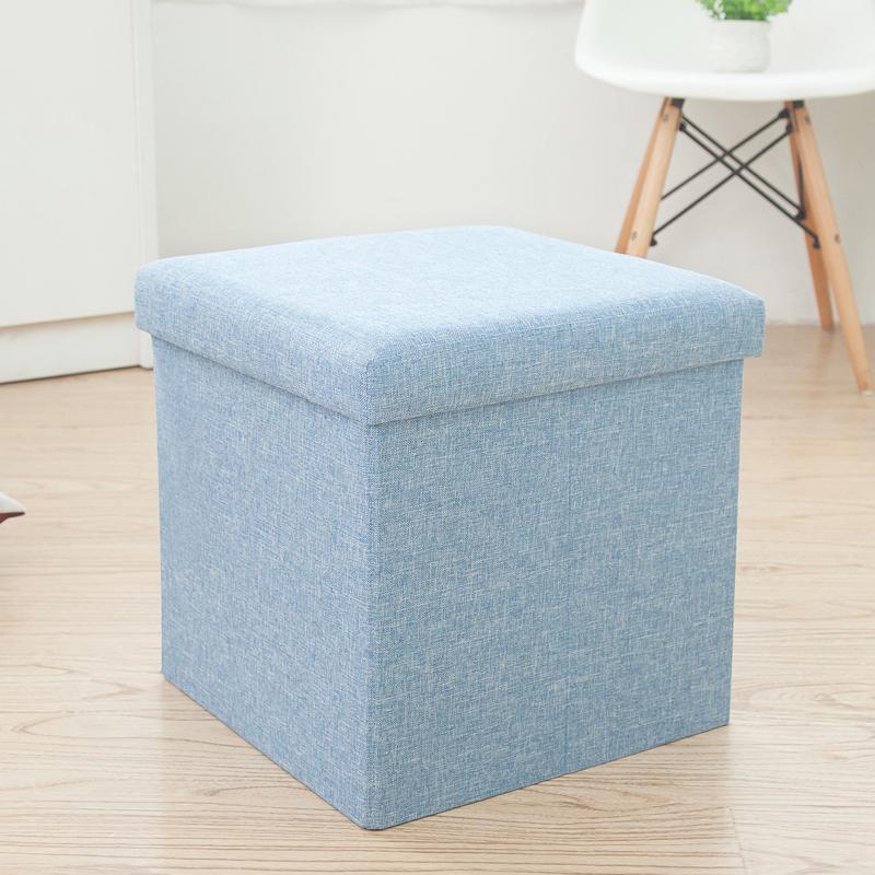 Счастливый рыба площади многофункциональный хранение табуретка может сидеть человек хранение стул сложить коробка коробка гостиная диван менять обувь стул