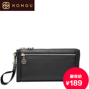 Honggu Hong Gu 2015 counter genuine new European and American casual ladies leather clutch bag 4311