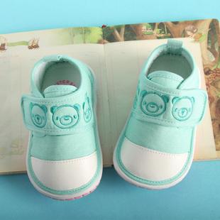 学步鞋男宝宝软底6-12个月叫叫鞋婴儿软底学步宝宝鞋子春秋女
