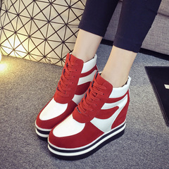 Hero sheep fall in Korean Hi shoes women's casual shoes high women's shoes Shoes Sneakers with the student female boomers