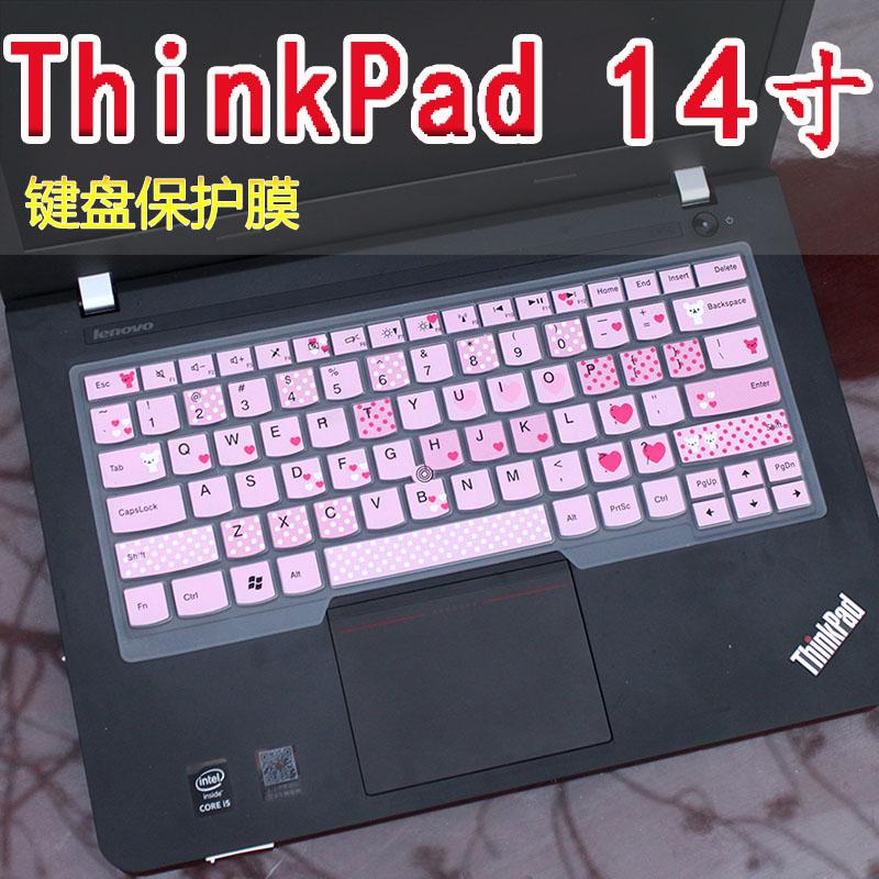 聯想筆記本電腦ThinkPad T470p E480翼480鍵盤膜保護貼膜套14英寸