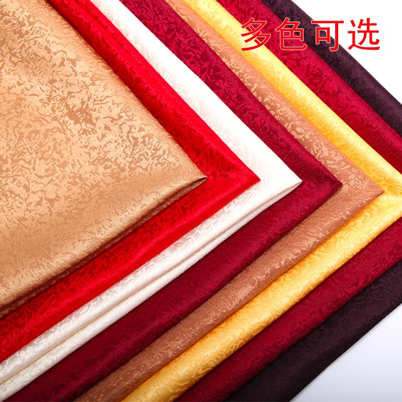 红色提花口布 酒店口布餐巾布餐垫布 擦杯布折花布西餐厅饭店席巾