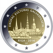 In 2014 Latvia European cultural capital & ndash; & ndash; Add 2 of the double metal COINS