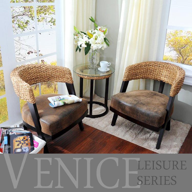 Балкон стул диван плетеный стул три образца случайный стул к.