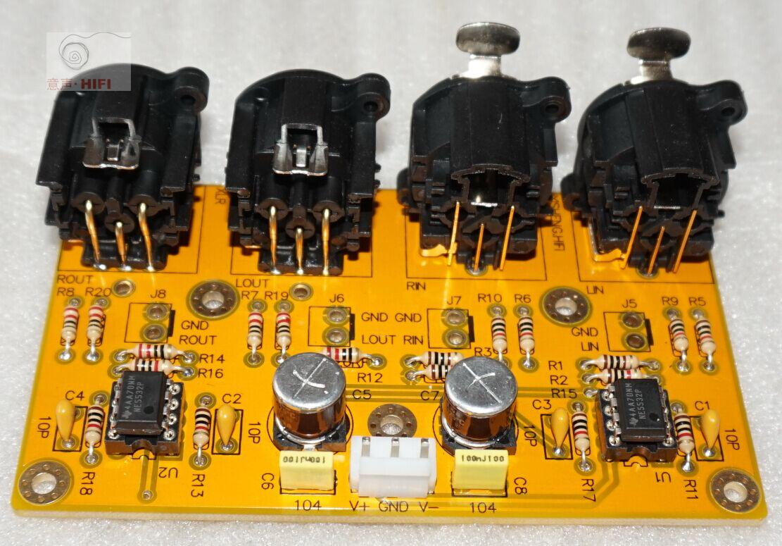 Баланс назад уровень / не- баланс поворот баланс / баланс поворот не- баланс /RCA поворот XLR доска / комплект