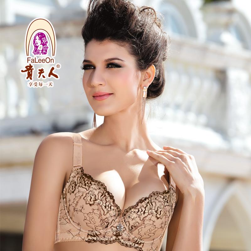 贵夫人专柜正品文胸FA8811C杯薄模杯聚拢调整型内衣大胸显小胸罩
