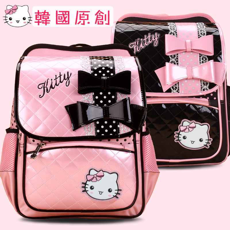 Уменьшить нагрузку на корейской версии KT на плечи детей медсестра двухскатных девочек девочек 1-3-6 класс сумка принцесса Вентилятор