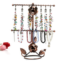 Rose Necklace Display Frame necklace sweater chain Display rack jewelry display frame