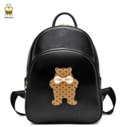 Bag 2016 in the North Korean version of the original new woman bag new student backpacks cute cartoon College wind bag surge