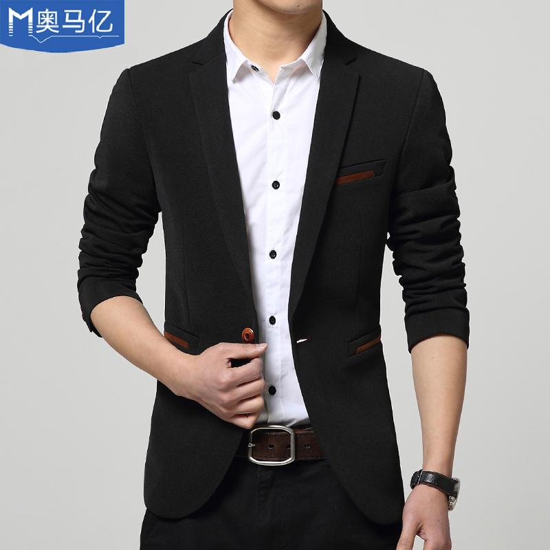 Омар k осенью 2015 новых малых костюмы мужские тонкий случайные подходит для мужской тонкий слой неглиже Dan Xichao