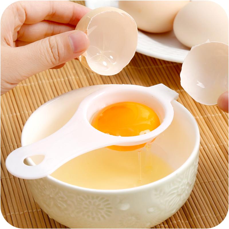 A яичный белок отдельный устройство кухня небольшой инструмент желток белок автоматическая фильтр домой выпекать выпекать яйца филиал яйцо
