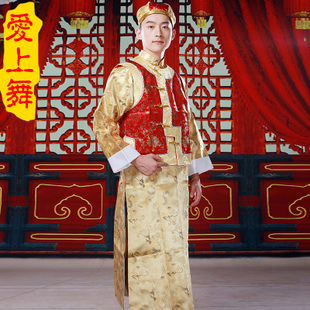 Elder brother fell in love with dance costume clothing male Chinese dress vintage dress dress Qing Baylor southern wit